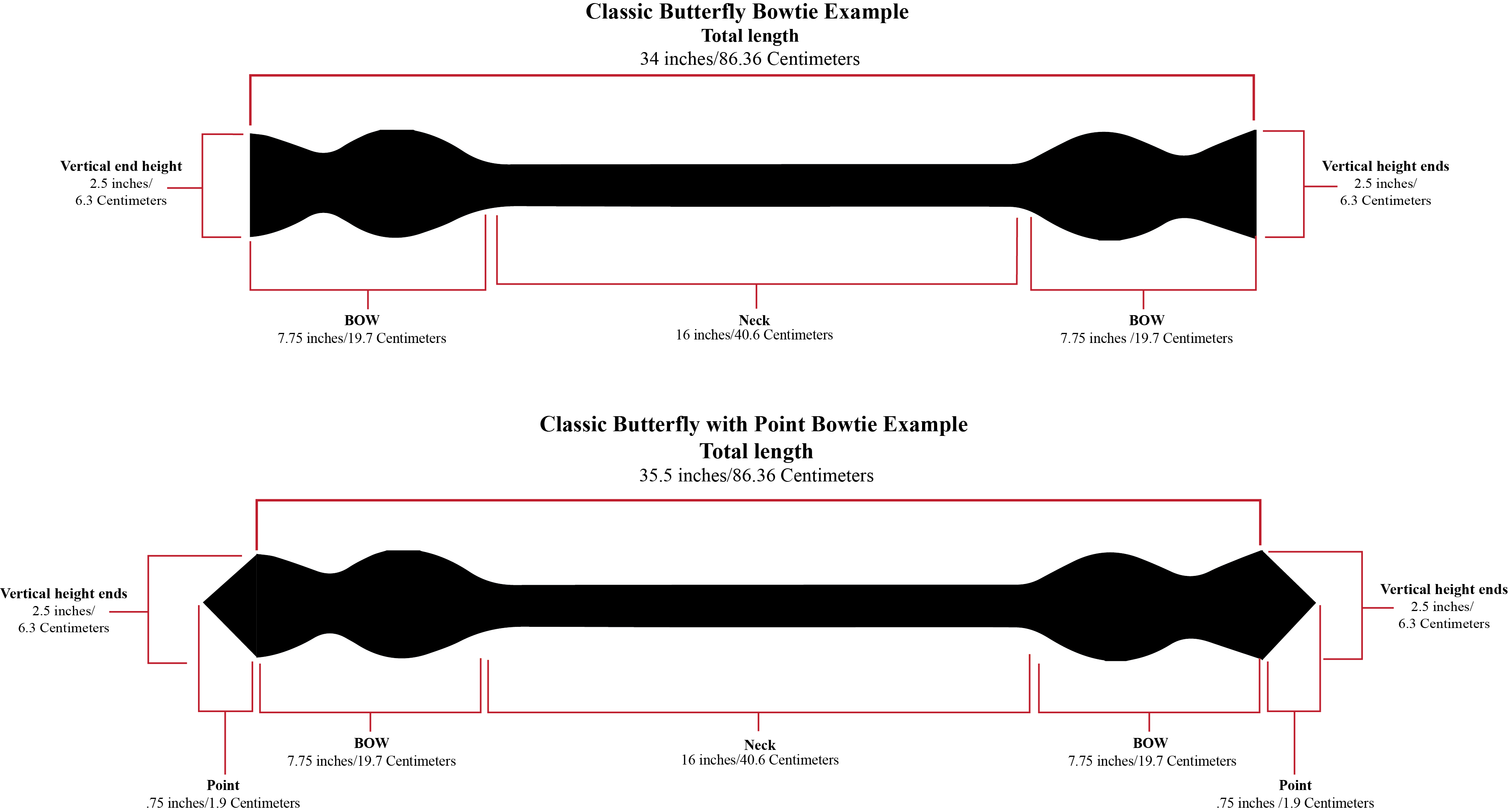 Bow Ties Tie Diagram Shapes
