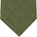 English Herring Bone Silk Tie #3