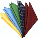 Macclesfield Printed Silk Pocket Squares