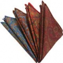 Madder Silk Pocket Squares