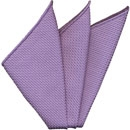 Lavender Grenadine Silk Pocket Square #32
