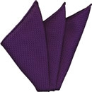 Purple Grenadine Silk Pocket Square #34