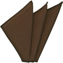 Dark Chocolate Grenadine Silk Pocket Square #5