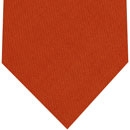 Macclesfield Challis Burnt Orange Solid Wool Tie #8