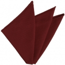 Red Grenadine Fina Silk Pocket Square 1
