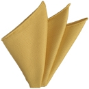 Corn Yellow Grenadine Fina Silk Pocket Square # 27