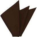 Dark Chocolate Grenadine Fina Silk Pocket Square # 5