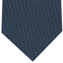 Midnight Blue Prometeo Grenadine Silk Tie #6