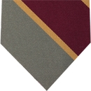 Natal Mounted Rifles Stripe Silk Tie # 12