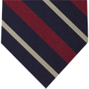 3rd City of London Stripe Silk Tie # 18