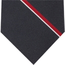 Royal Navy Stripe Silk Tie # 20