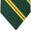 Malaya Regiment Stripe Silk Tie # 32