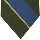 Burma Rifles Stripe Silk Tie # 33