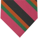 6th Battlion East Surry Stripe Silk Tie # 37