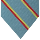3rd The Kings Own Hussars Stripe Silk Tie # 38