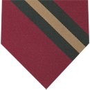 Wiltshire Regiment Stripe Silk Tie # 45